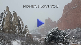 HONEY, I LOVE YOU | Joseph James [Official Lyric Video] | YouTube & Rumble