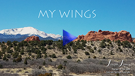 MY WINGS | Joseph James [Official Lyric Video] | YouTube & Rumble