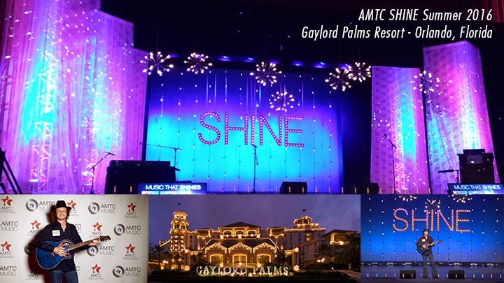 Joseph James Performing at AMTC SHINE Summer 2016 - Gaylord Palms Resort, Orlando, Florida