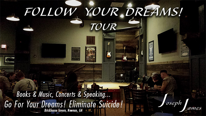 Follow Your Dreams Tour - Joseph James