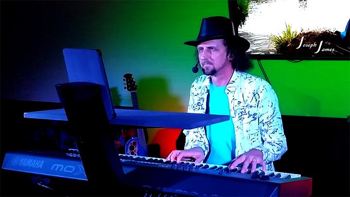 Joseph James Performing His Music - Follow Your Dreams Tour