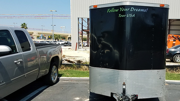 Advertise on Joseph James' Follow Your Dreams Tour Trailer - Sponsors - Save A Life