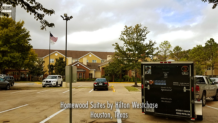 Homewood Suites by Hilton Westchase - Houston, Texas - Follow Your Dreams Tour - Joseph James - GameChangers Universal
