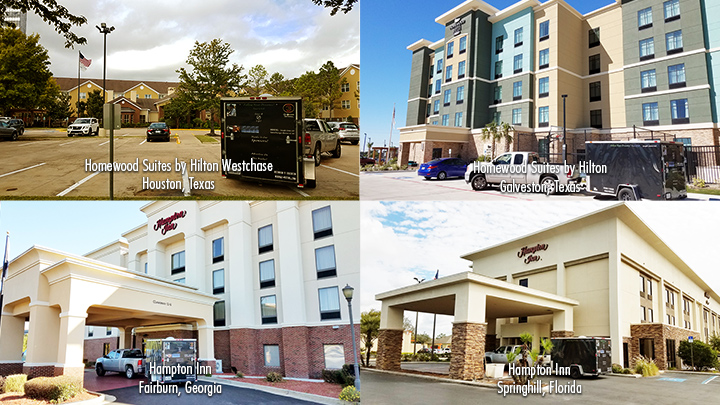 Follow Your Dreams Tour Hotel Stays - Joseph James