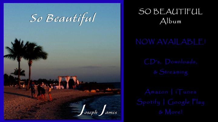 SO BEAUTIFUL Album by Joseph James