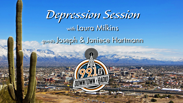 Depression Session - Laura Milkins - Joseph James and Janiece Hartmann - Tucson Radio