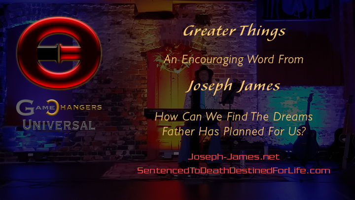 Follow Your Dreams Tour | Joseph James | Greater Things