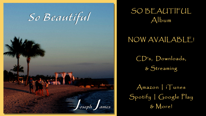 SO BEAUTIFUL Album by Joseph James | More Info