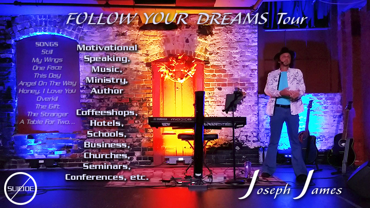 Joseph James Tour Advertisement | Follow Your Dreams Tour