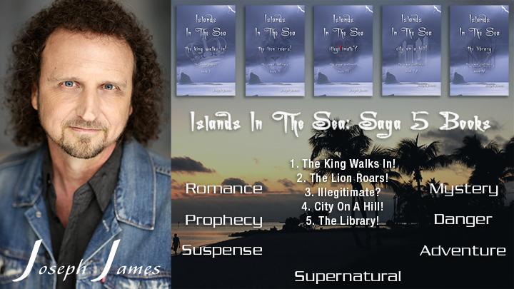 ISLANDS IN THE SEA: SAGA 5 Books - New Books by Joseph James - VaryMedia