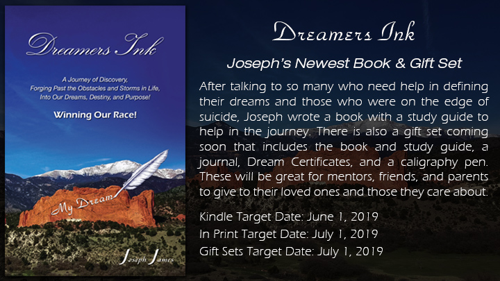Dreamers Ink Book by Joseph James
