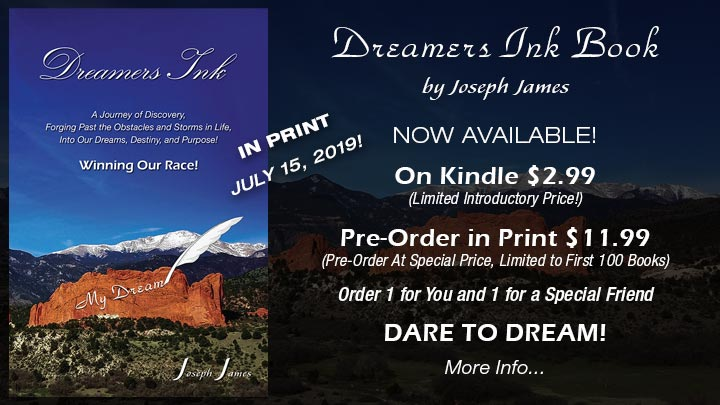 DREAMERS INK BOOK | Joseph James