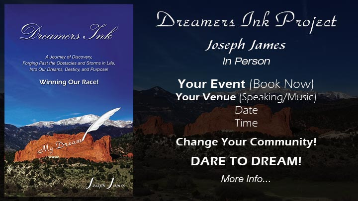 Book Joseph James | Speaking & Music