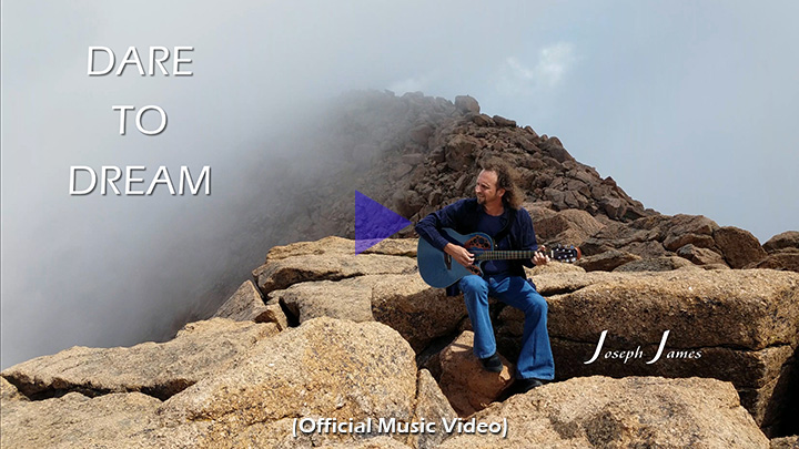 DARE TO DREAM   Joseph James [Official Music Video]