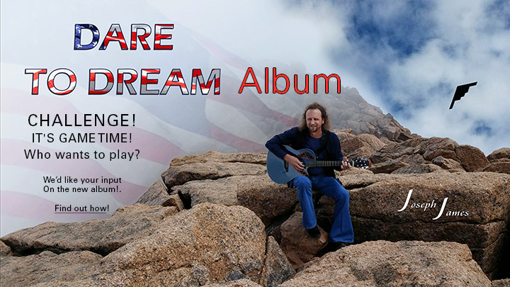 DARE TO DREAM Album Challenge | Joseph James