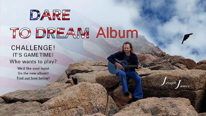DARE TO DREAM Album Challenge | Joseph James