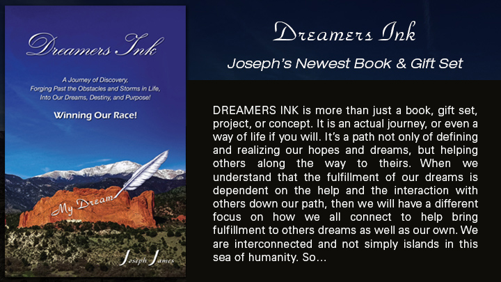 Dreamers Ink | Joseph James