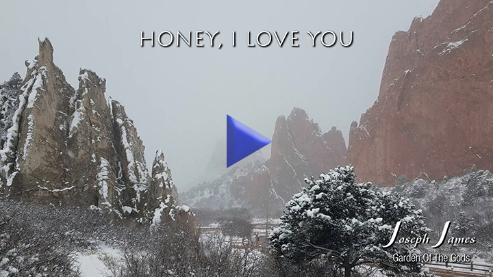 HONEY I LOVE YOU | Joseph James [Official Lyric Video]