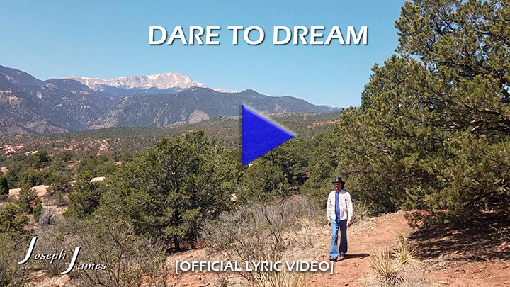 DARE TO DREAM [Official Lyric Video | Joseph James