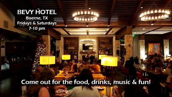 Bevy Hotel, Boerne TX, Joseph James Music