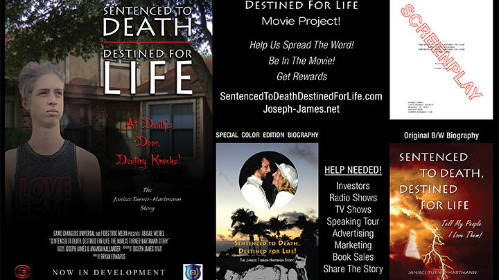 SENTENCED TO DEATH, DESTINED FOR LIFE Movie Project | Joseph James