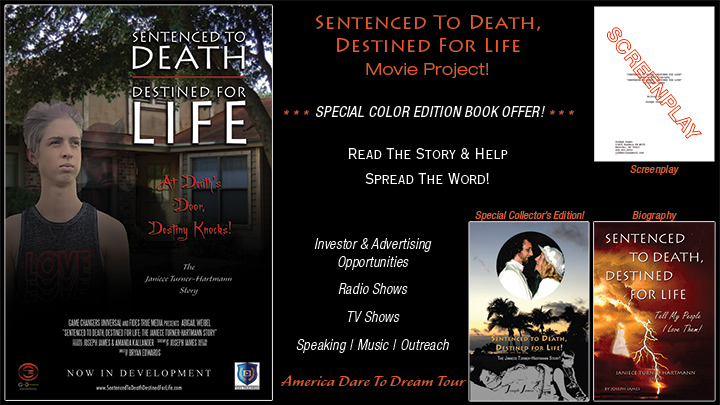 SENTENCED TO DEATH DESTINED FOR LIFE Movie Project | Joseph James